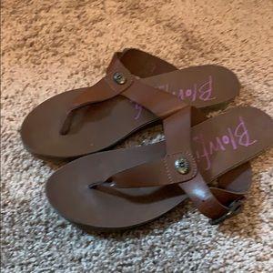 Blowfish brown sandals size 7.5